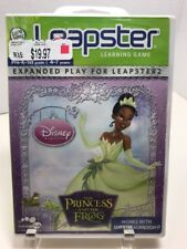 New Sealed The Princess and the Frog (Leapster 2) Expanded Play Learning Game