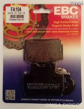 Yamaha XJ600 N / S (1992 to 2003) EBC Kevlar REAR Brake Pads (FA104) (1 Set)