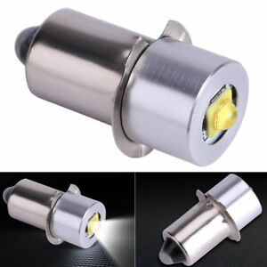 P13.5S LED Flashlight Replacement Emergency Interior Bike Torch Works Bulb Dec