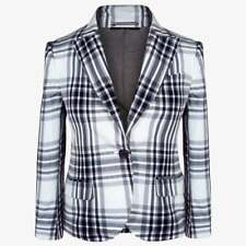 GUCCI Women Plaid Blazer Size M 44 10 Womens Formal Jacket For Work NWT $1570