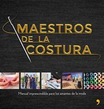 MAESTROS DE LA COSTURA. NUEVO. Nacional URGENTE/Internac. económico. DISEÑO Y MO
