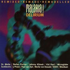 Malaria - Delirium Remixed Remade Remodelled - RARE CD - MFS '93 TECHNO TRANCE