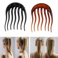 Ponytail Inserts Hair Clip Bun Maker Bumpits Bouffant Volume Hair Comb Styling