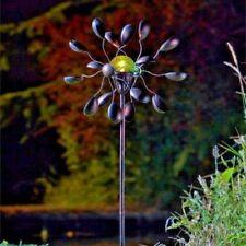 Décorations de jardin moulins à vent en métal