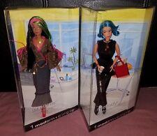 2003 Barbie 1 Modern Circle Simone Makeup Artist Melody Production Assistant NIB