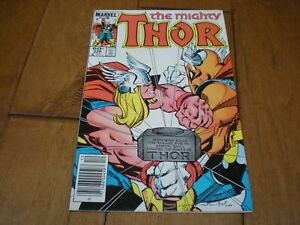 Thor #338 (1966 Series) Marvel Comics '2nd App. Beta Ray Bill & Newsstand' VF/NM