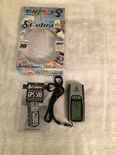 Handheld Cobra GPS 500 Global Positioning System GPS