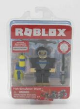 New Sealed Roblox Fish Simulator Diver Mix & Match Action Figure