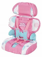 Baby Huggles Dolls Car Booster Seat Girls Kids Travel Safety Chair with Straps
