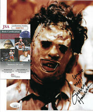 Gunnar Hansen Signed 8x10 Photo, Texas Chainsaw Massacre, Leatherface, JSA COA