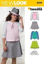 Simplicity Child Skirt Sewing Patterns
