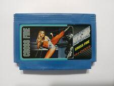 CROSSFIRE - Ultra RARE Famicom Famiclone Nes Cartridge