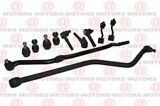 Jeep Wrangler TJ Steering Tie Rod End Track Bar Ball Joints Set Sway Bar Link