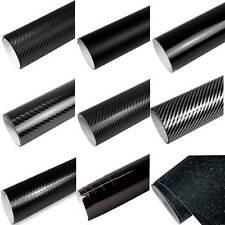 8,55€/m² Auto-Folie SCHWARZ 3D 4D 5D Carbon Folie GLANZ MATT Folie Blasenfrei