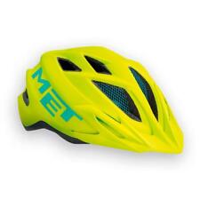 Casque Met Crackerjack Lime-blue 2017 52-57 cm