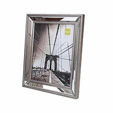 nexxt Sutton Mirrored Picture Frame, 8 by 10 Inch, Champagne