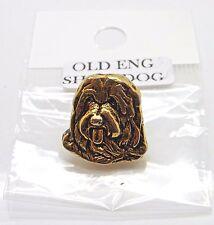 Old English Sheepdog Head Badge