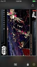 Topps Star Wars Digital Card Trader Battle Above Coruscant Widevision Insert