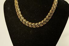 Vintage 1950s Monet Gold Tone Necklace