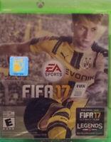 FIFA 17 EA SPORTS XBOX ONE NEW & SEALED
