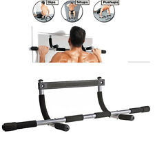 Pull Up Bar Chin-Up Exercise Heavy Duty Doorway Home Gym Upper Body Work