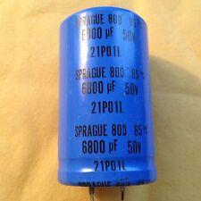 Sprague capacitor 6800 uf 50v