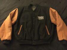 YARD HOUSE NEWPORT BEACH CA. Letterman Jacket Leather & Wool size Large USA made