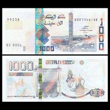 Algeria 1000 Dinars, 2018 (2019), P-New, banknotes, UNC