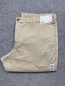 NEW Uniqlo Pants Mens 40 Chinos Slim Fit Straight Leg Mid Rise 40 x 34 Adult