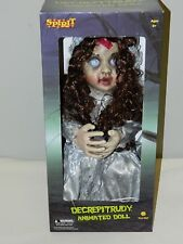 Spirit Decrepitrudy Animated Doll Halloween Decoration Prop Motion Activated NEW