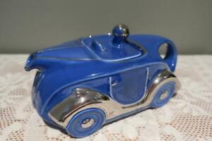 Rare Sadler England Bone China Teapot - OKT 42 Re Issue Racing Car - Boxed - Vgc