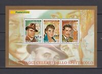 s17338) ITALIA MNH** 2007 Artists Gigli Callas Nazzari S/S