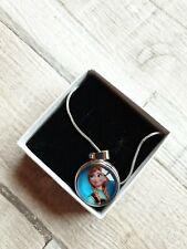 Kids Frozen Anna Elsa Olaf Girls Necklace Gift Christmas