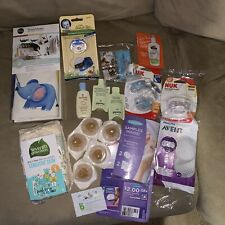 Miscellaneous Baby Sample Lot, Lotion Samples, Nuk Pacifiers, Similac Nipples