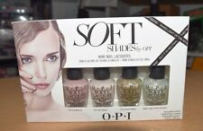OPI Mini Soft Shades Collection Nail Lacquer Set of 4 NEW!