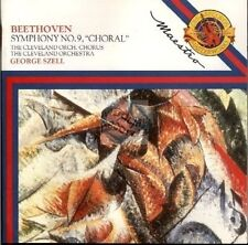 BEETHOVEN symphony n°9 choral CD george szell CBS myk 42532 cd japan / slv dutch