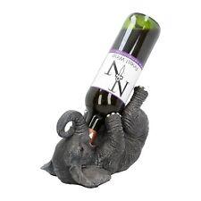 Weinflaschenhalter Elefant betrunken Afrika Wild Life Weinkeller besoffen NN04