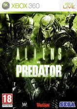 NEW ORIGINAL SEALED ALIENS VS PREDATOR XBOX 360 MICROSOFT GAME 2010 PAL-FR