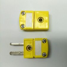 (115x) Omega 016 07 K Type Thermocouple Connectors M-F Pair