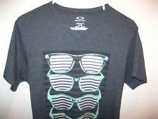 OAKLEY FROGSKINS LUXURY T-SHIRT M THIN SOFT REGULAR FIT MINT COTTON/ POLYESTER
