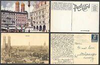 2 Old Germany Postcards - Munich