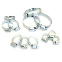 Jubilee Clips Garden Hose Clamp Assorted Set of 12pc Assorted Sizes 6mm to 51mm