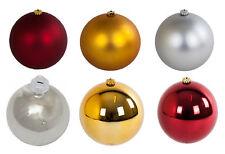 Weihnachts-Dekokugel 15cm Christbaumkugeln Weihnachtsbaumkugeln Weihnachtskugeln