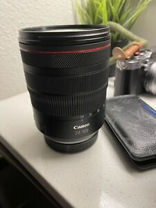 Canon RF 24–105mm F4 L IS USM Camera Lens (2963C002)