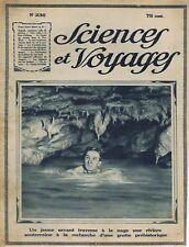 Sciences et voyages 236 1924 Casteret Grotte Montespan Puyi Chine Tripoli Along