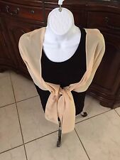 Gold Wrap, Shawl for Evening, for Wedding, Mother of the Bride, Gold, Champagne