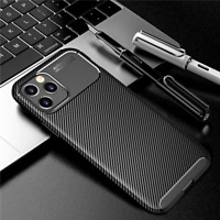 COVER per iPhone 12 Pro Max Mini Custodia CARBONIO + Pellicola Vetro Temperato
