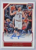 Kevin Love 2016-17 Panini Complete Auto #22 Cleveland Cavaliers