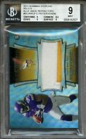 2013 bowman sterling relics blue wave ref #bsjrrcp C. PATTERSON rookie BGS 9