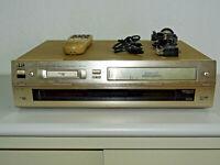 JVC HR-DVS1 miniDV- / S-VHS-Videorecorder, inkl. Fernbedienung, 2 Jahre Garantie